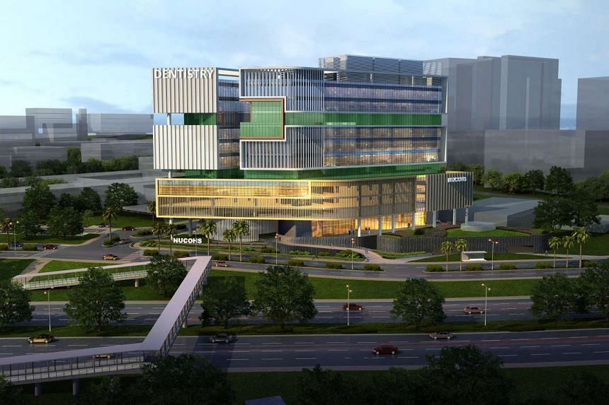 An artist's impression of the new National University Centre for Oral Health building.