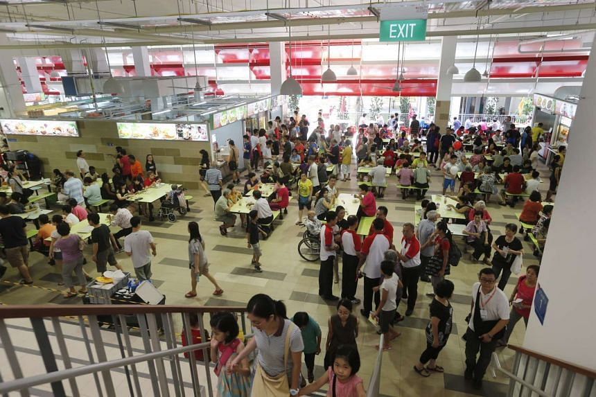 It was full house at the Ci Yuan Community Club yesterday as PM Lee Hsien Loong officially opened the first community club that has a hawker centre and a family medicine clinic within it.