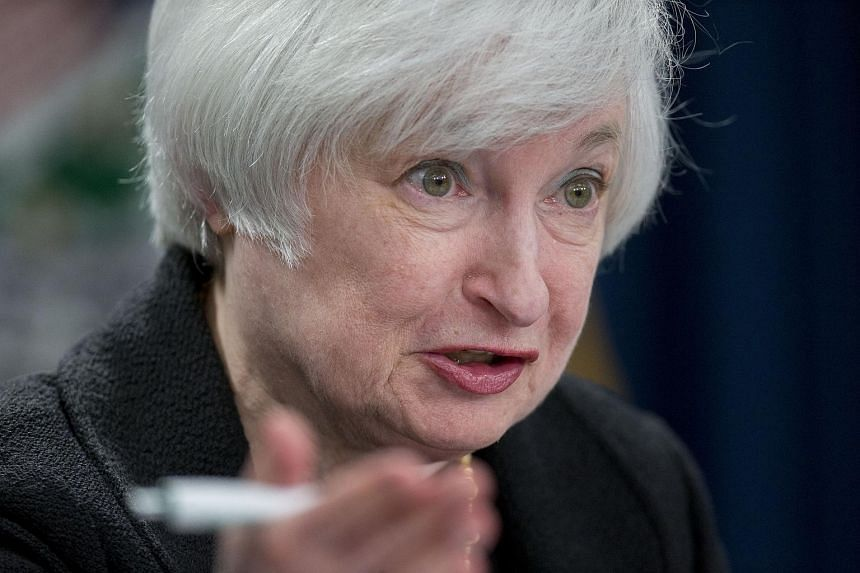 Janet Yellen, chair of the US Federal Reserve, speaks during a news conference following a Federal Open Market Committee (FOMC) meeting in Washington, D.C., US, on Sept 17, 2015.
