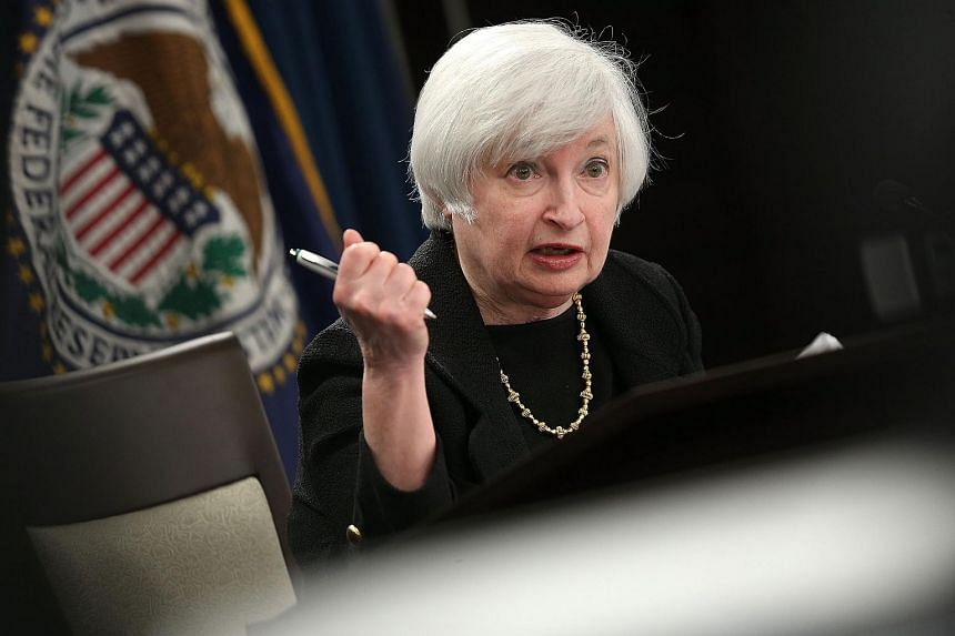 Federal Reserve Board Chairwoman Janet Yellen answers questions at a news conference following a Federal Open Market Committee meeting on Sept 17, 2015.