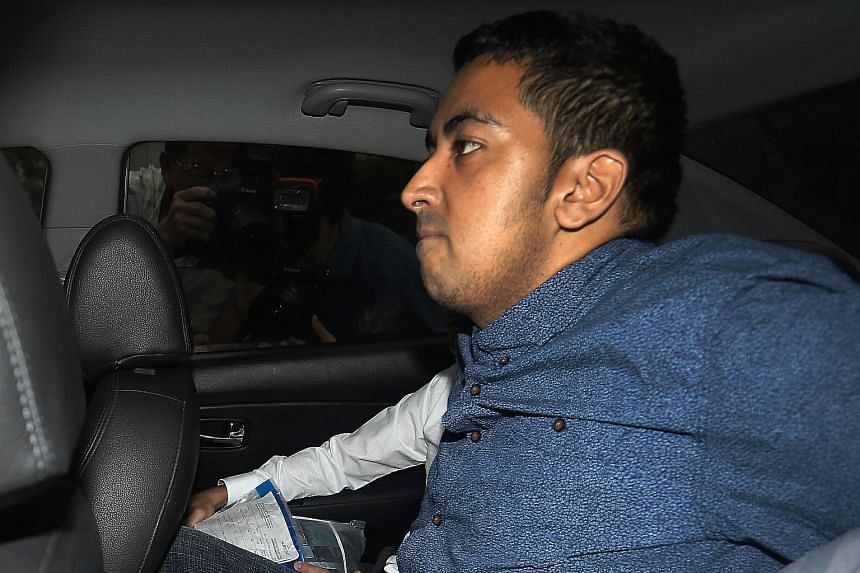 Yogvitam Pravin Dhokia, who allegedly committed a rash act on Sept 20 to endanger safety of F1 drivers in the Singapore Grand Prix, was charged on Tuesday.