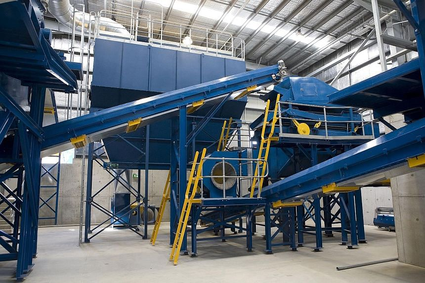 A SembSita advanced waste-treatment facility. Sembcorp will use the proceeds from the sale of its 40% SembSita stake to invest in businesses and markets with high growth potential, in line with its focus on the energy and water sectors, said presiden
