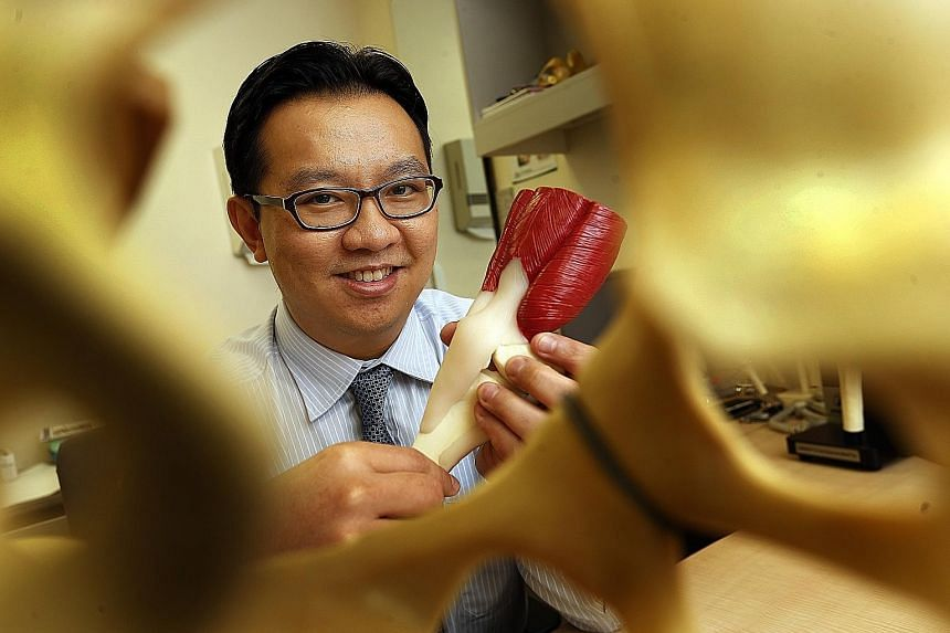 Dr Victor Seah, an orthopaedic surgeon at Raffles Hospital who sub-specialises in orthopaedic trauma, finds bones, joints and soft tissues fascinating because they work in tandem to create all the wonderful things that a person can do.