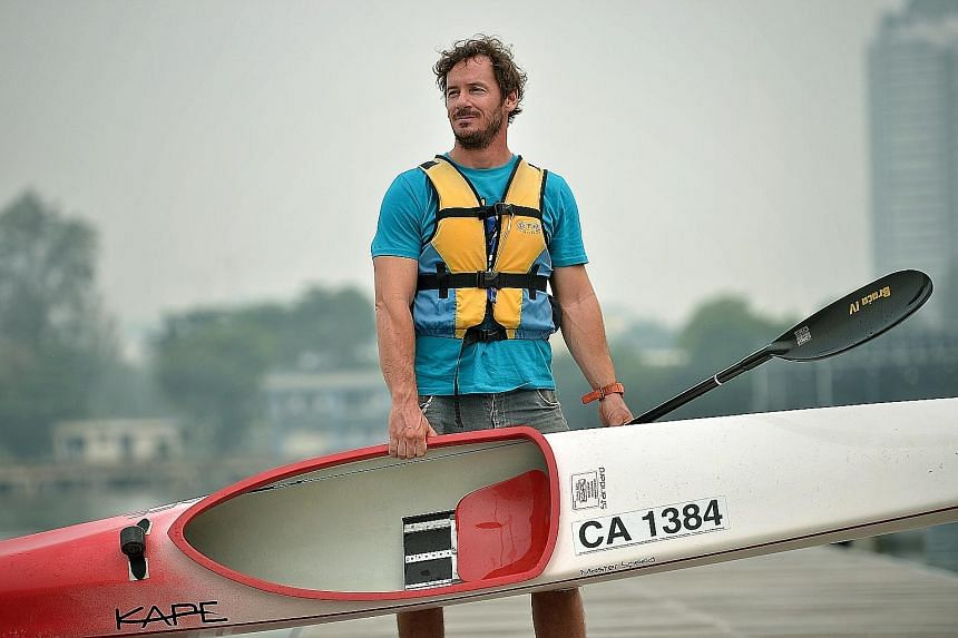 Singapore national canoeing coach Balazs Babella says the local athletes will gain good experience training with the world junior champions from Hungary.