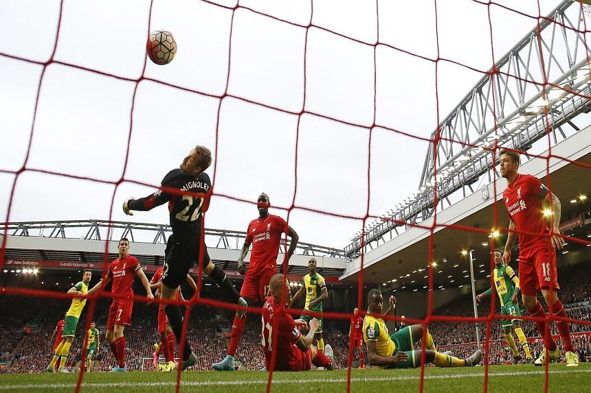 Russell Martin's goal for Norwich piles more pressure on Reds manager Brendan Rodgers whose team lie 13th in the EPL table.