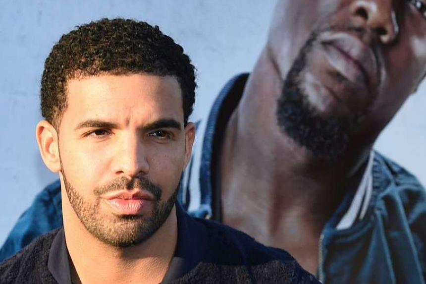 Canadian rapper Drake, at the premiere of the movie Get Hard at the TCL Chinese Theatre in Hollywood, California in March this year.