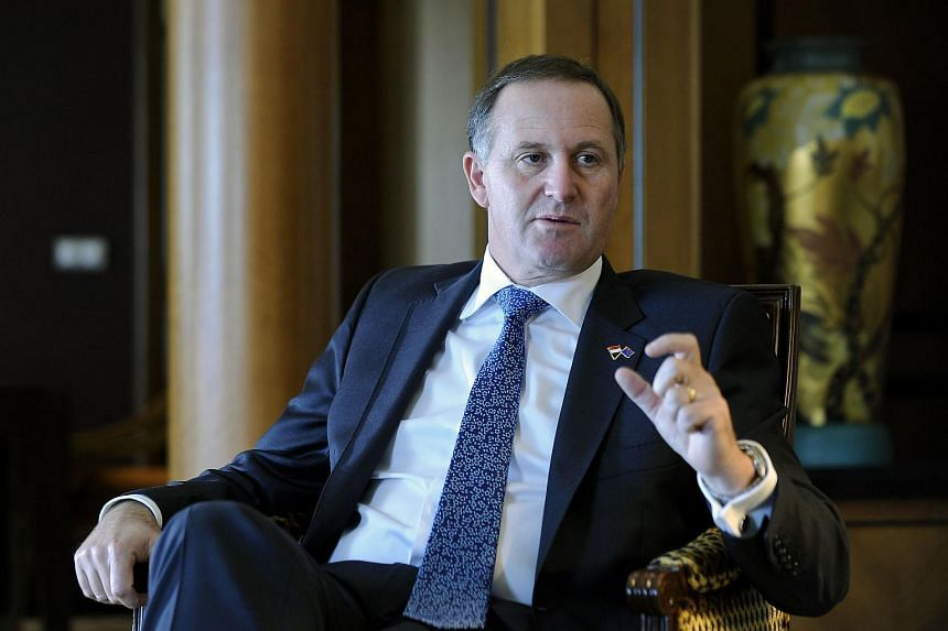 New Zealand Prime Minister John Key said he faces a challenge persuading New Zealanders to change the national flag in a referendum later this year.
