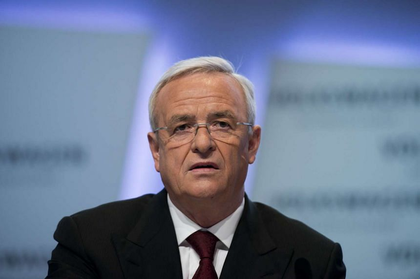 A file picture of Martin Winterkorn, CEO of German carmaker Volkswagen. PHOTO: AFP