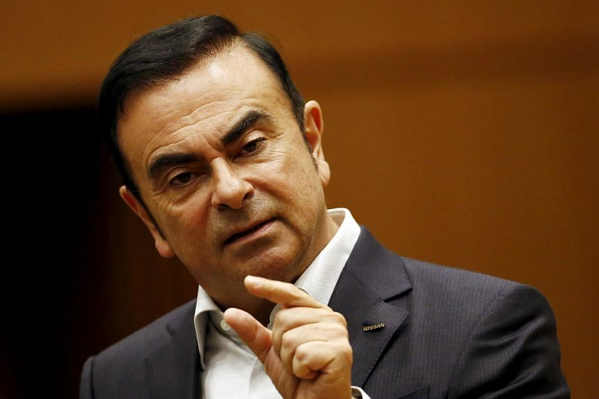 Carlos Ghosn, CEO of the Renault-Nissan Alliance speaks during a question and answer session organised by the Japan Chamber of Commerce in Tokyo on July 16, 2015.