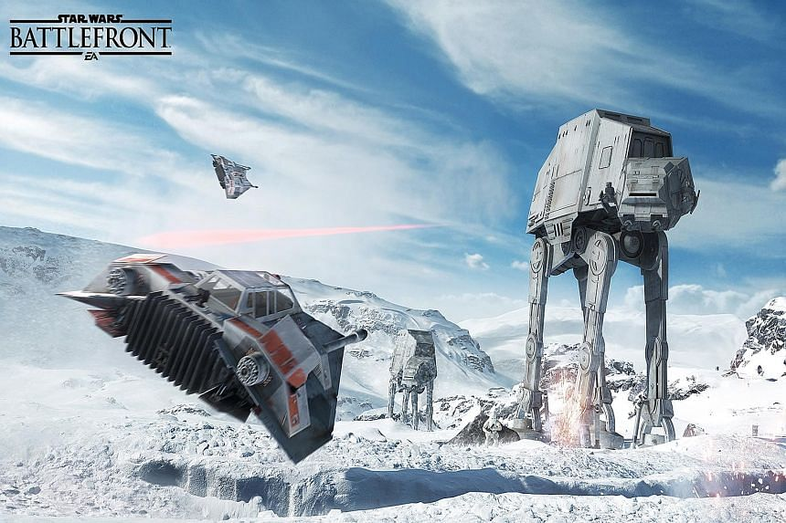 Mr Jamie Keen, one of the game designers, said Battlefront is intended to take iconic moments from the film, and let players experience those moments themselves.