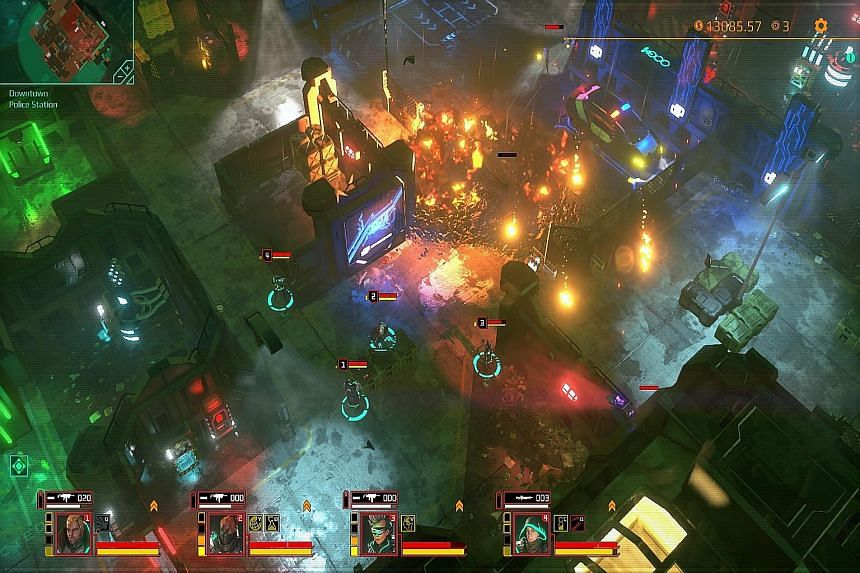 Real-time tactical action game Satellite Reign follows the same design, gameplay ethos and storyline of Syndicate, its spiritual predecessor from 1993. But it has better 3D graphics, animation and texture.