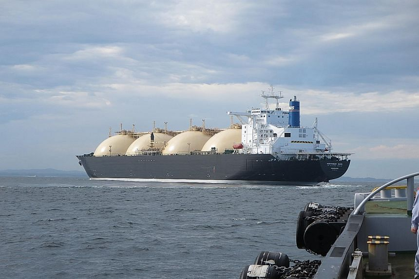 Shell, which operates one of the world's largest fleets of LNG carriers, expects LNG demand to grow by 5 per cent a year over the next couple of decades.