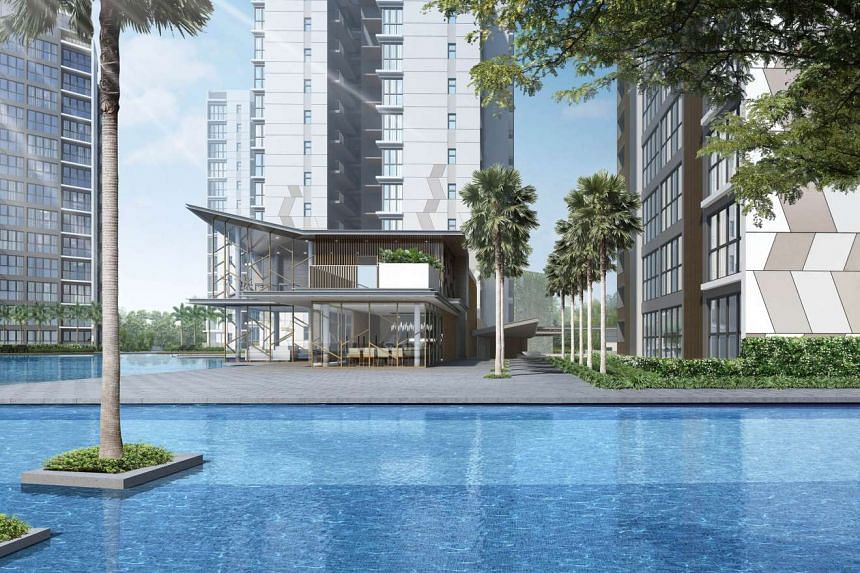 Artists impression of The Criterion at Yishun. PHOTO: CITY DEVELOPMENTS LIMITED