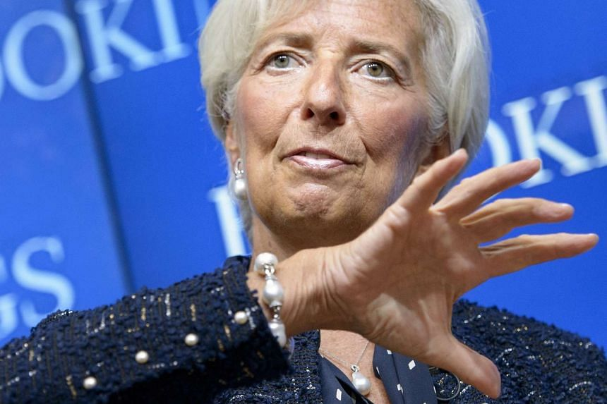 Lagarde noted the easing Chinese growth had already helped push commodity prices lower, putting pressure on export-led economies and their public finances.