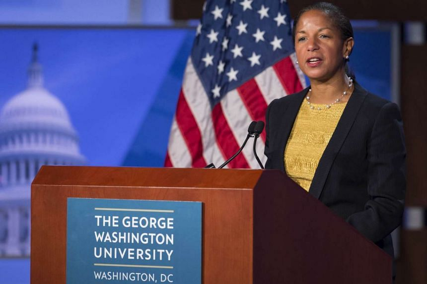 US National Security Adviser Susan Rice, speaking on Monday, says US President Barack Obama will not shy away from pressing concerns in talks with Chinese President Xi Jinping.