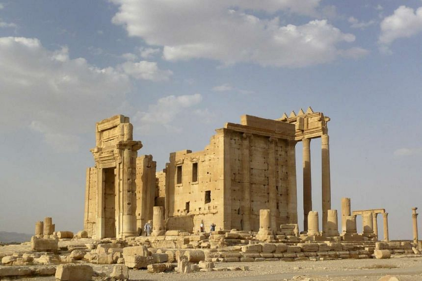 Syria's army is fighting to retake the city and its Unesco-listed ruins from the Islamic State in Iraq and Syria (ISIS).