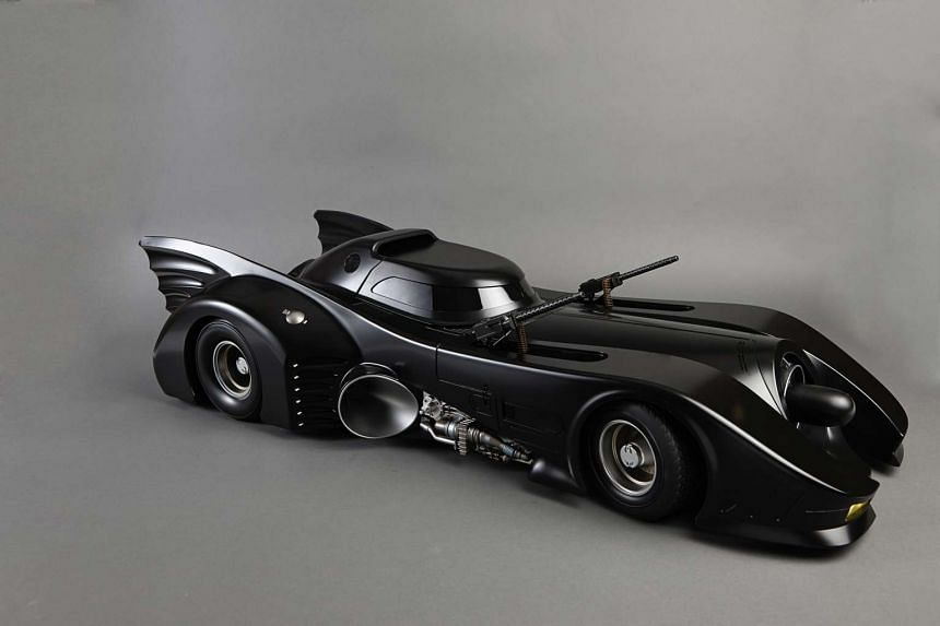 Batmobile In The 1989 Movie Batman from the Collection of G&B Comics.
