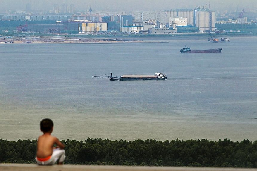 As China's manufacturing- based model reaches its use-by date, Guangdong is seeking a new future for its US$1 trillion (S$1.4 trillion) economy and the nation's, too.