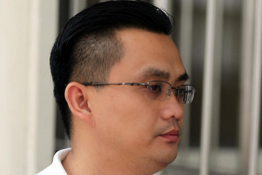 Soh Yew Meng (left) faces four charges of taking bribes from three contractors and three of trying to get bribes. Tan Siow Hui allegedly abetted in the offences.