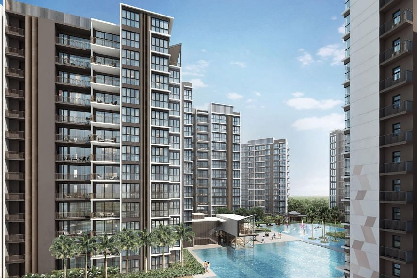 The Criterion comprises 10 13-storey blocks, and overlooks the Lower Seletar Reservoir and Orchid Country Club. It is the second EC to be launched after the income ceiling for the public-private housing hybrid was raised from $12,000 to $14,000 last