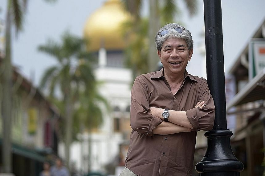 Singaporean businessman Syed Alwi Aidid still runs the trading company that his late father founded in Bussorah Street. He is also a trustee of the nearby Masjid Sultan.
