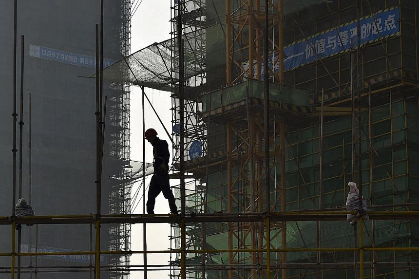According to research, China construction is struggling with downward price pressures and weak demand.