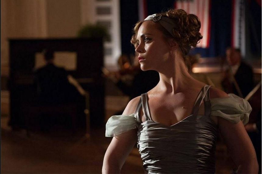 Christina Ricci as Zelda Sayre Fitzgerald in Z, a TV show pilot by Amazon.com.