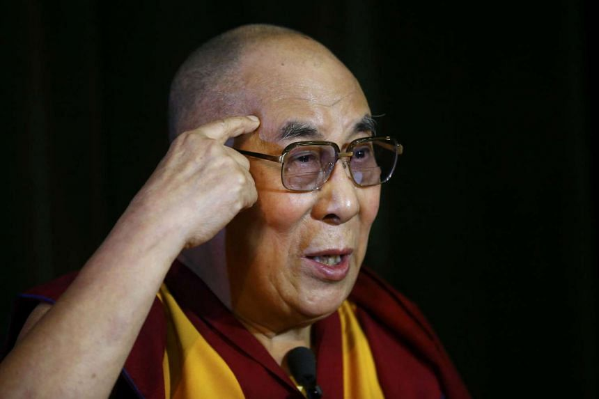 The Dalai Lama during a news conference on Sept 14, 2015.