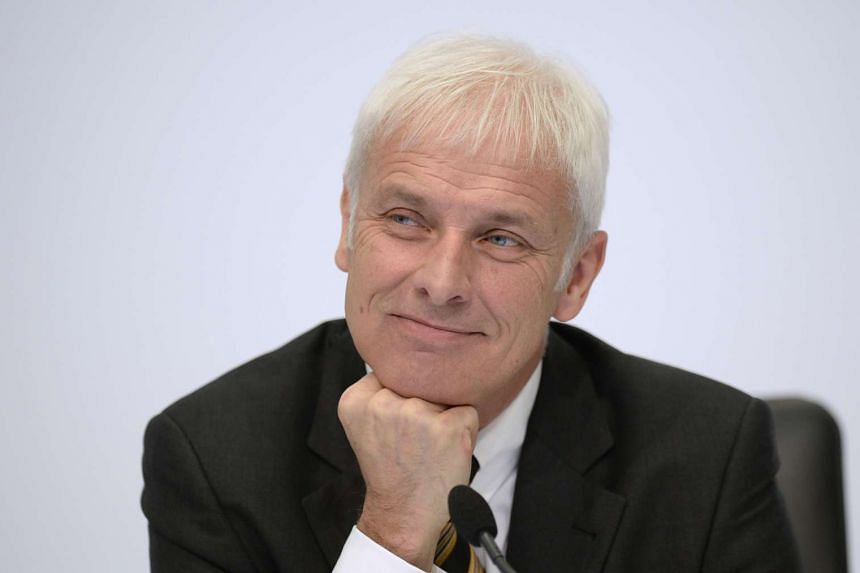 Mr Matthias Mueller, chief executive of German car maker Porsche, is tipped to be the next Volkswagen chief.