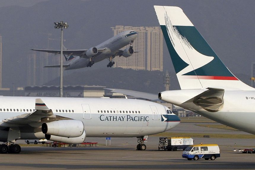 A Cathay Pacific plane carrying 251 passengers from Australia to Hong Kong made an emergency landing in Bali on Friday (Sept 25) because of an engine problem.