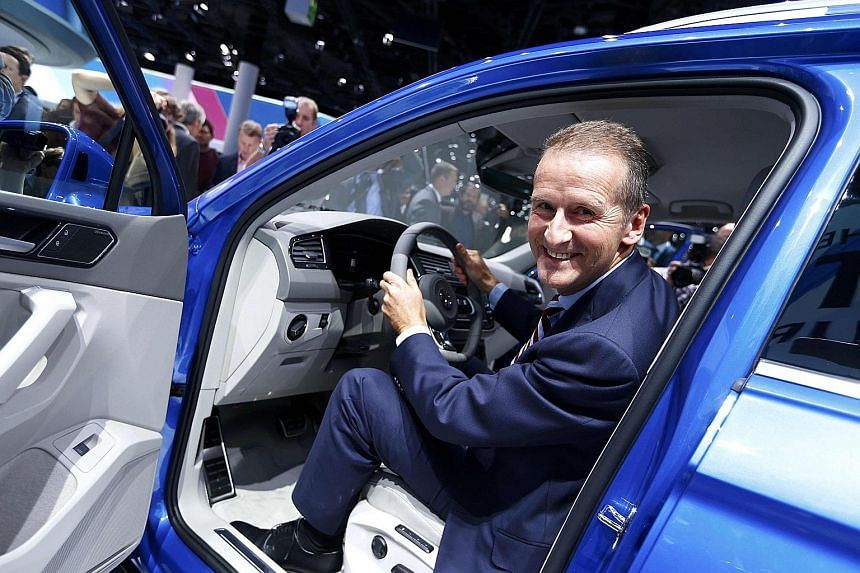 Another possible candidate for the CEO post is former BMW executive Herbert Diess, who became VW brand chief this year.