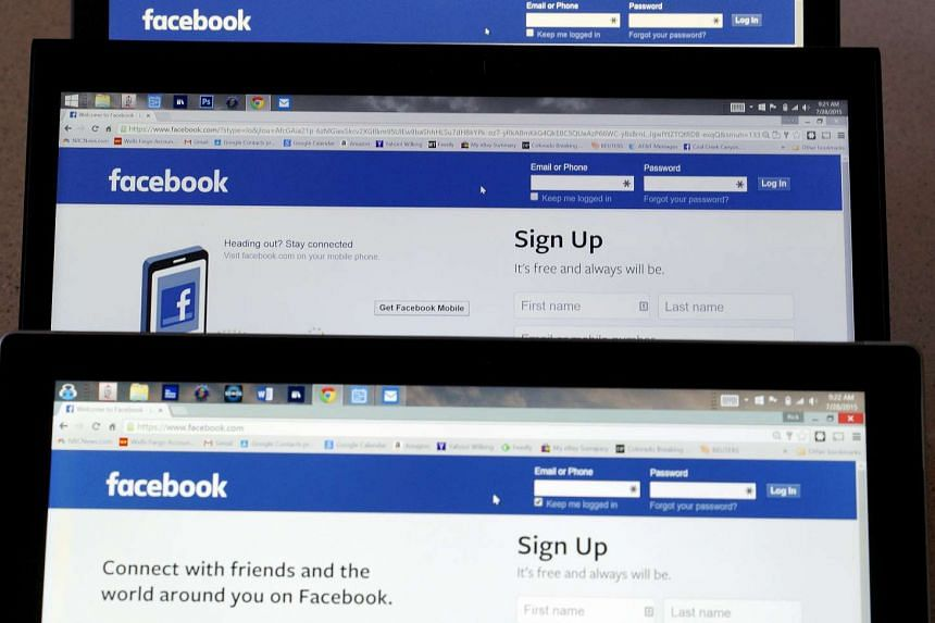 Facebook.com was down for some users on Thursday.
