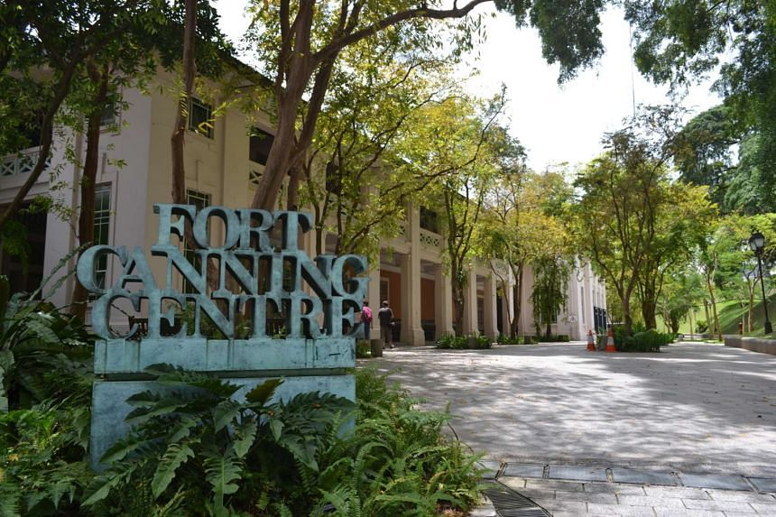 Fort Canning Centre at Fort Canning Park. The PAP Seniors' Group has called for a memorial park to be located in the park to honour Singapore's founders.