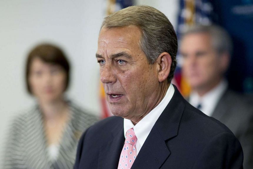 US House of Representatives Speaker John Boehner told his rank and file he will resign from the top House job at the end of October.