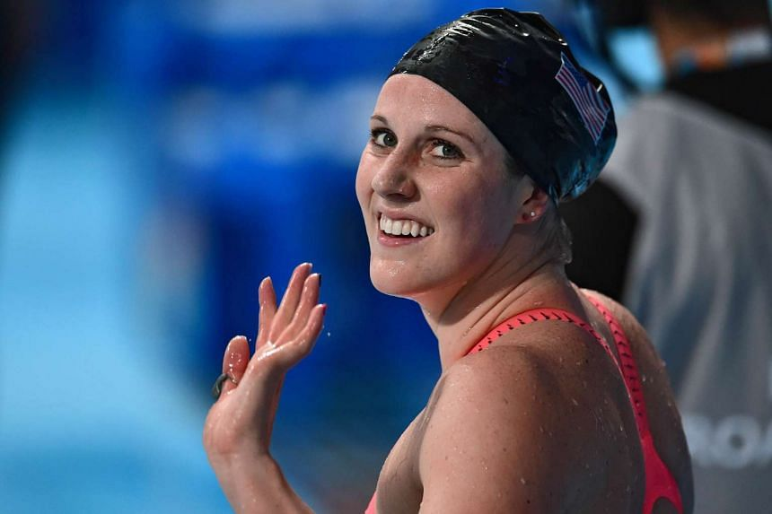 Missy Franklin on Friday warned her United States team-mates to expect a strong challenge from China at next year's Olympics.
