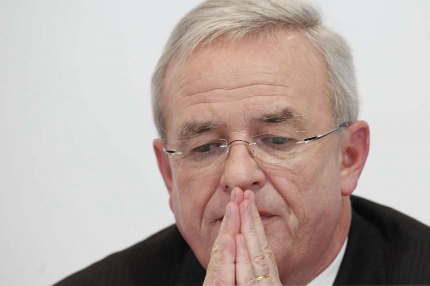 Martin Winterkorn at the Porsche SE annual news conference in Stuttgart, Germany, on Nov 25, 2009.
