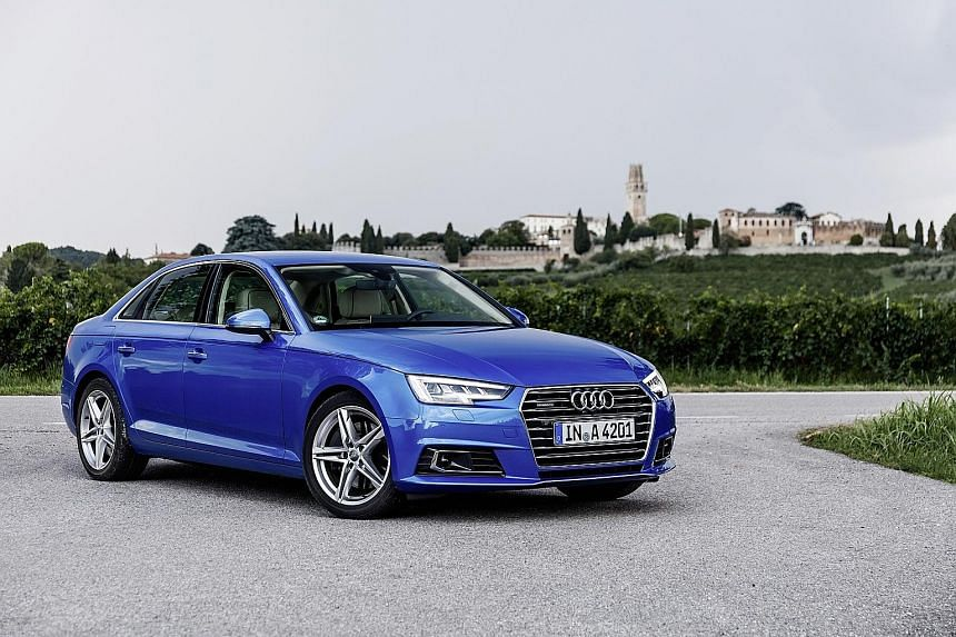 "The new Audi A4 has a ""virtual cockpit"" which is useful and intuitive."