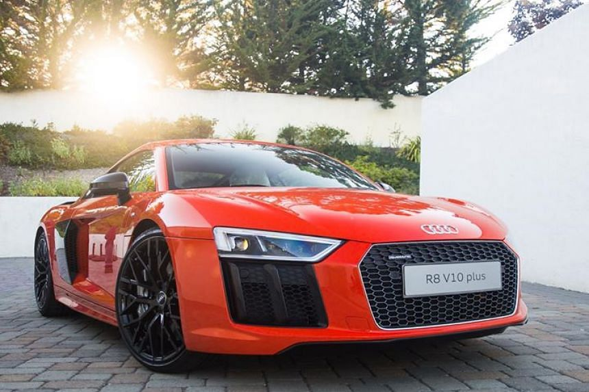 The new Audi R8.