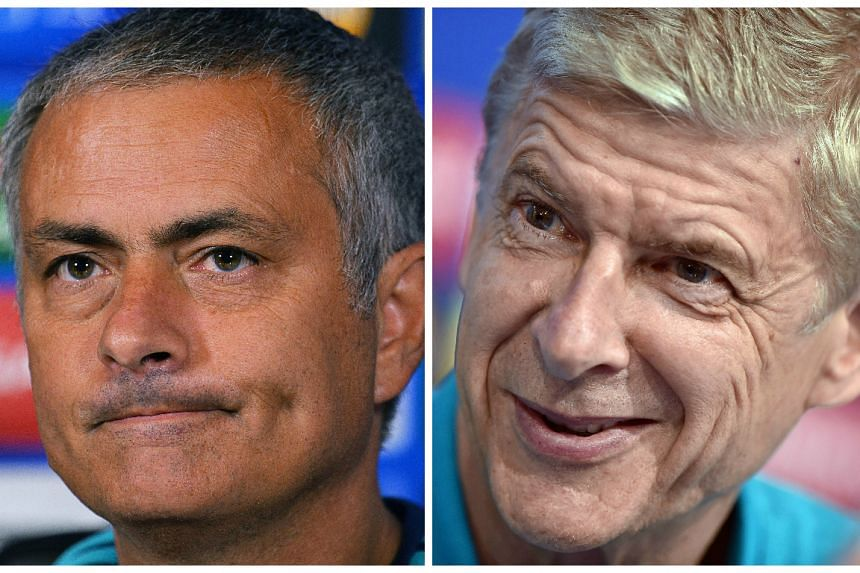 Jose Mourinho (left) has launched yet another attack on Arsene Wenger (right).