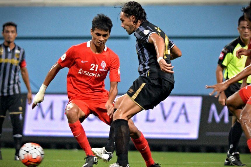 The LionsXII scored a 3-2 win over Terengganu at the Jalan Besar Stadium on Saturday evening.
