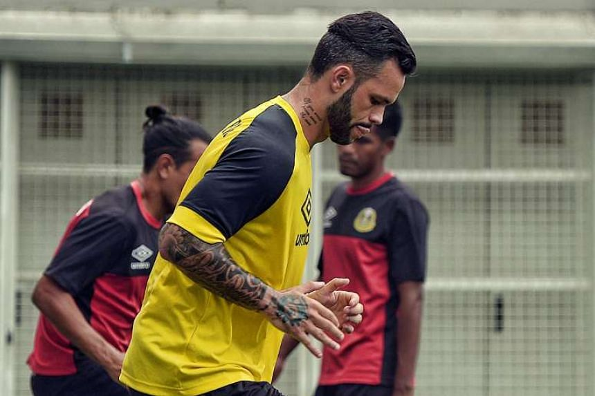 LionsXII coach Fandi Ahmad has warned his men to be wary of Paulo Rangel (above) who is eager to make amends after a three-month ban.
