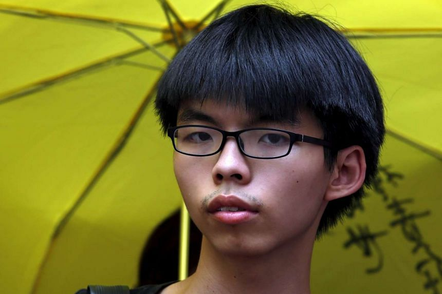 Student leader Joshua Wong is the face of the movement.