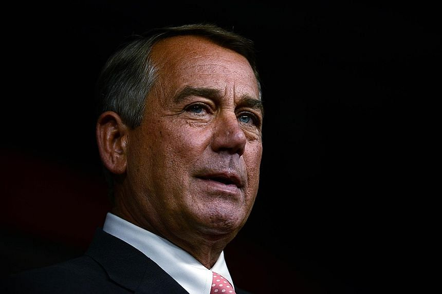 Mr John Boehner will be stepping down as Speaker of the US House at the end of next month.