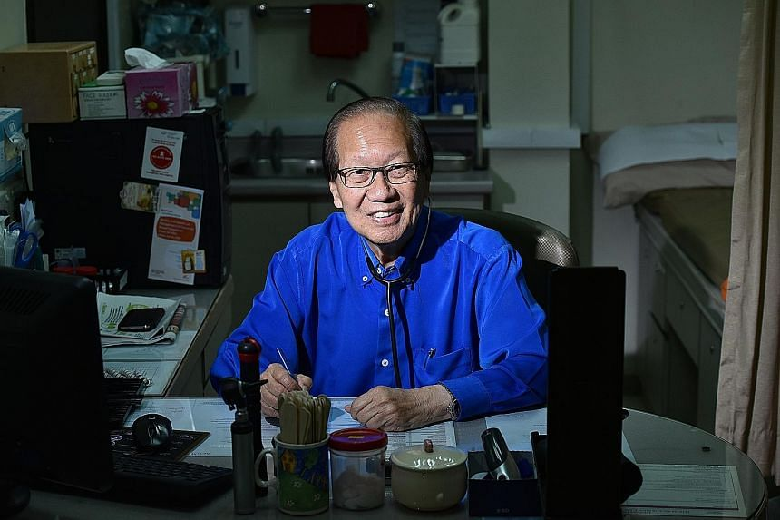 Dr Paul Tan, former chairman of the Family Planning Association of Singapore, said couples were reluctant to practise birth control in the 1950s and 1960s. The association, which taught women about the need for birth control, is now known as the Sing