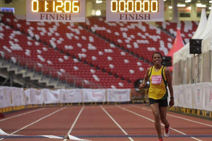 Margaret Njuguna topped the women's section of the 18.45km race in 1 hour 12 sec.
