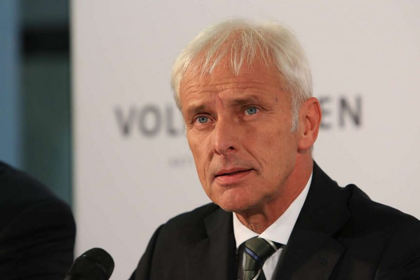 VW's new boss Matthias Mueller is said to be someone who knows how to use his elbows.