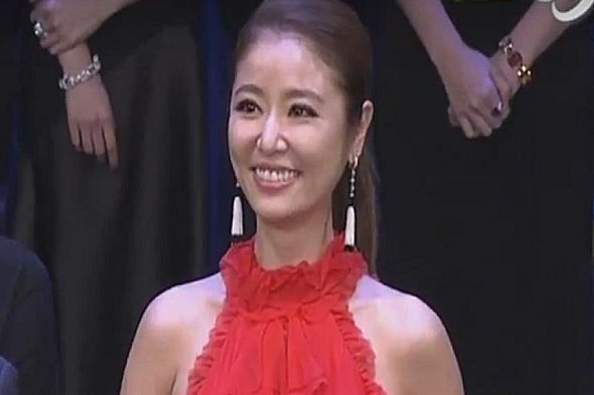 Ruby Lin, who produced and starred in the show, won the top prize, Best Drama.