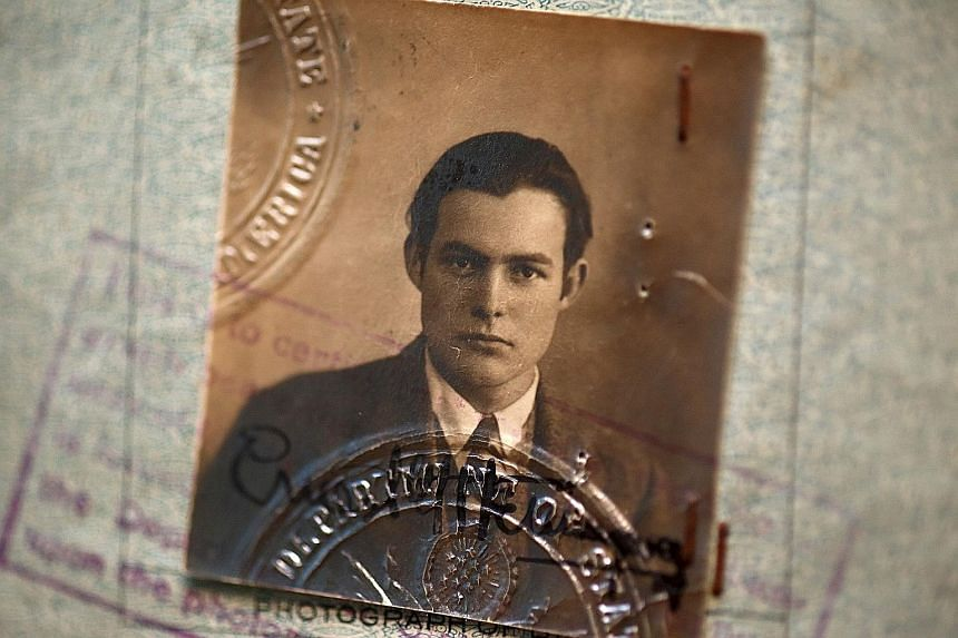 Ernest Hemingway's passport issued on Dec 20, 1923.