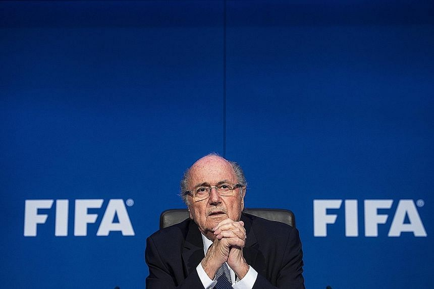 The 79-year-old Fifa president Sepp Blatter is being probed over the sale of World Cup TV rights in 2005 to the Caribbean Football Union, then run by his former ally Jack Warner.