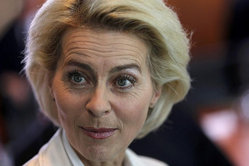 """Minister Ursula von der Leyen has asked the medical school in Hanover where she got her doctorate in the 1990s to have her dissertation """"evaluated by a competent and independent commission"""", said a spokesman."""